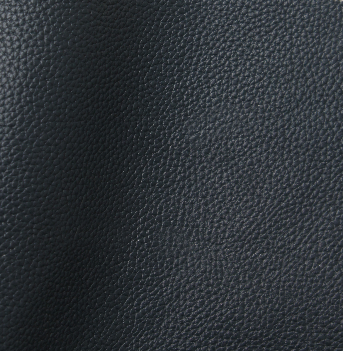 Navy blue Leather