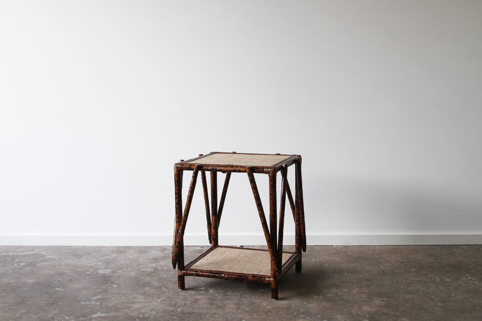 Tortoise shell side table