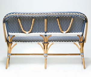 Barcelona bench seat_double basket_back_WS