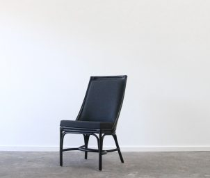 Luxe dining chair front_LS