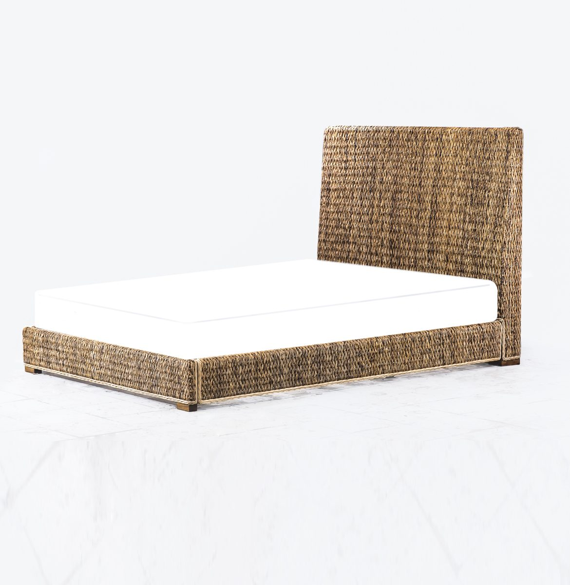 Abaca Bed Frame Rattan Commercial Furniture Supplier