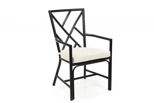 Aluminium outdoor commercial dining chair