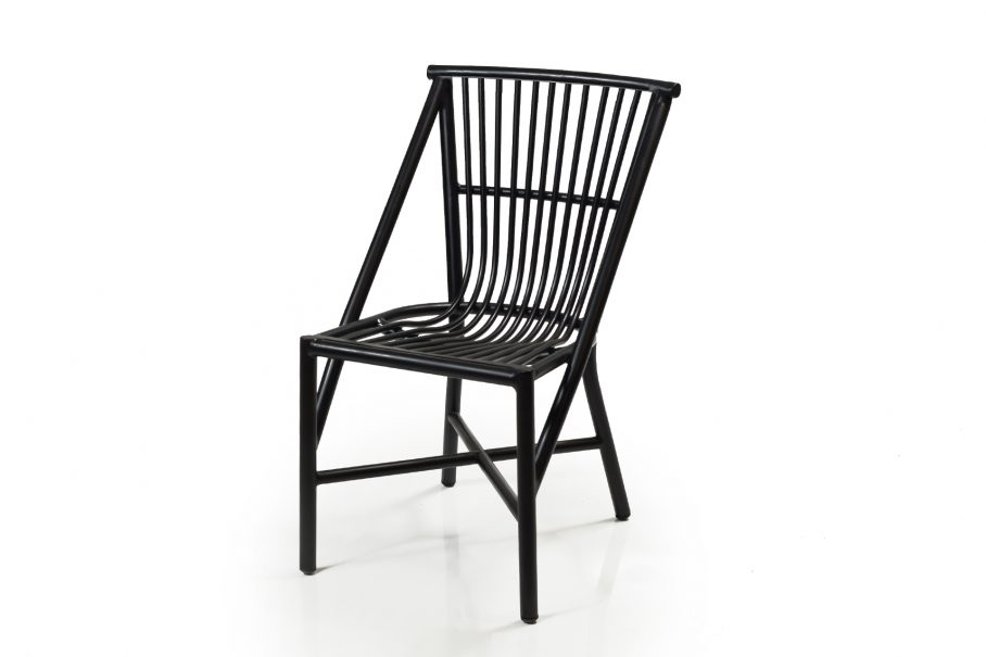 Outdoor aluminium dining chair