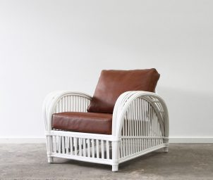 Beaufort armchair leather_LS