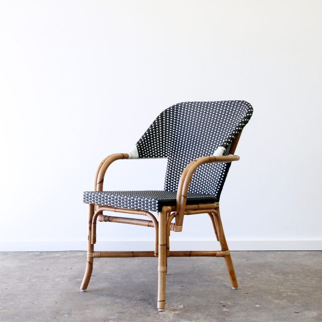 Rattan cafe chair