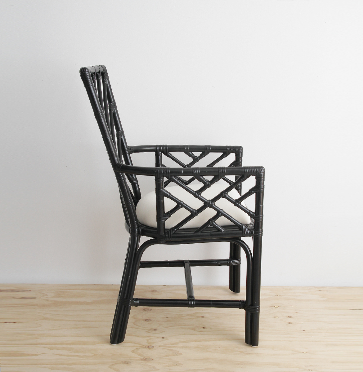 Jonathan Adler Chippendale carver chair