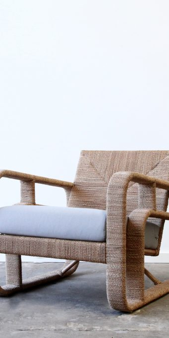 Corda armchair taupe no back_LS
