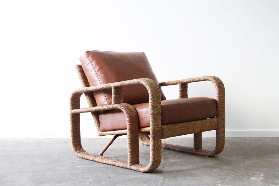 Rope armchair