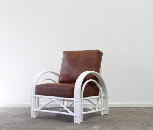 Deco armchair leather_LS