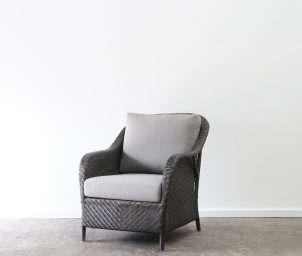 Esperanza armchair gunmetal_LS
