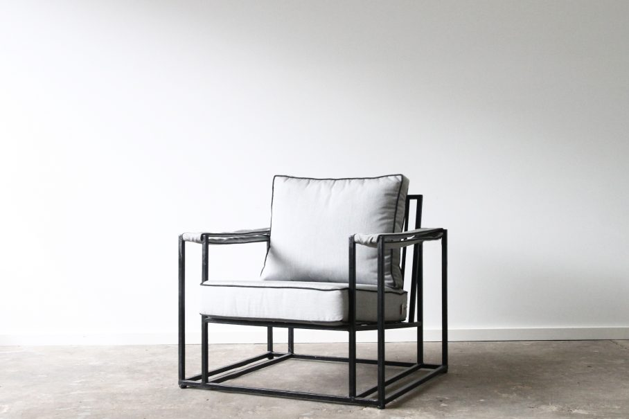Metal Box chair