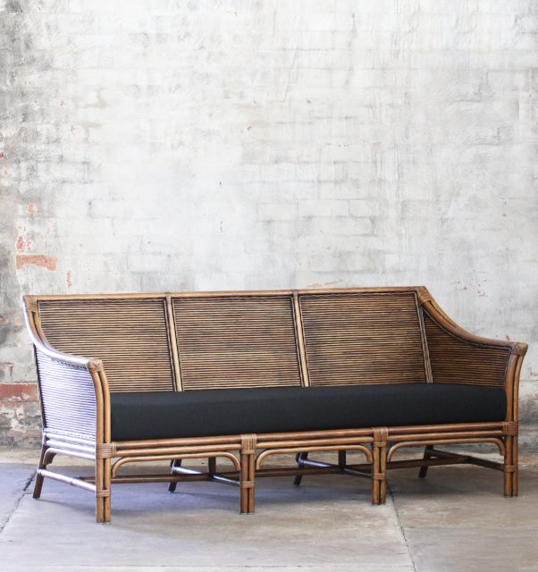 Rattan 3 seater daybed