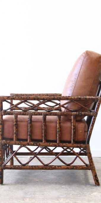 Helix armchair leather side_LS