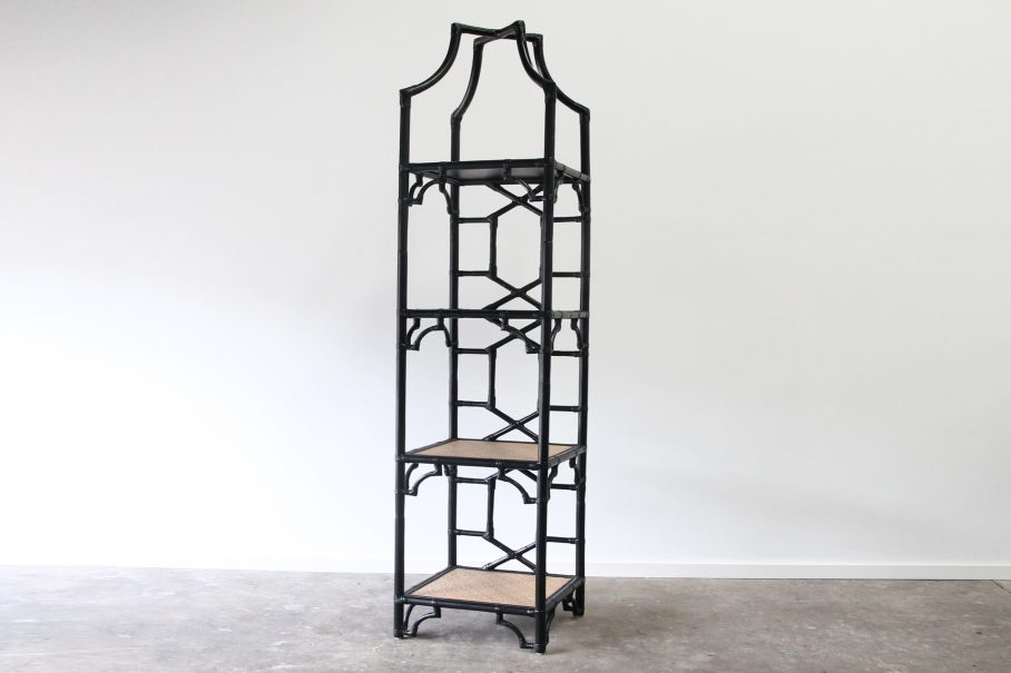 Imperial Court Rattan Etagere