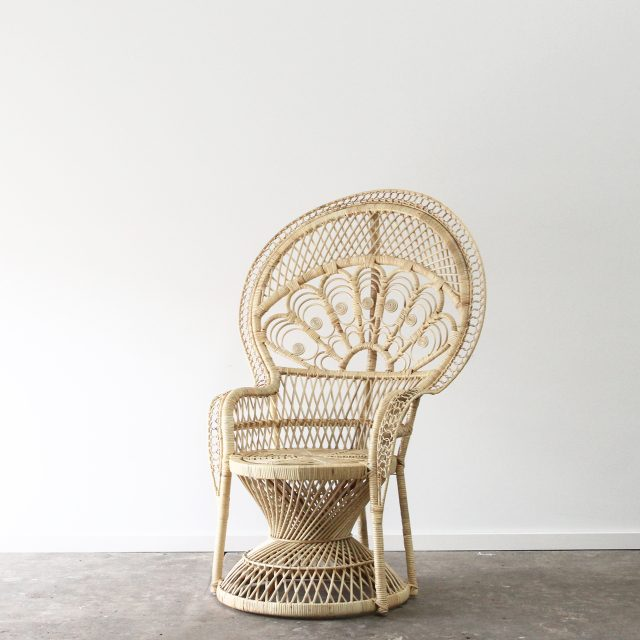 Empress peacock armchair