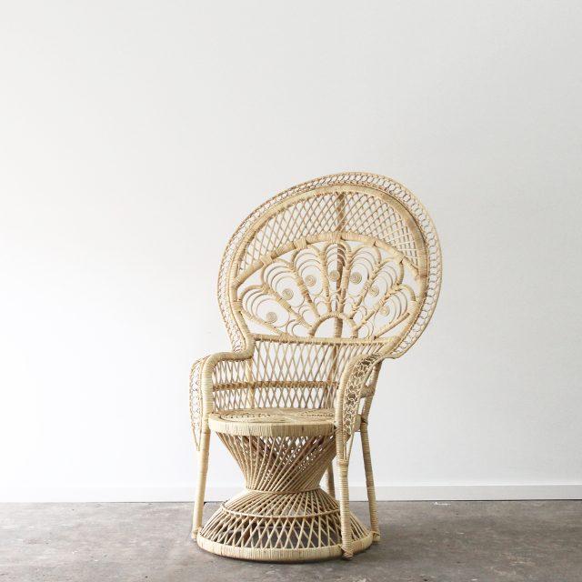 Empress peacock armchair