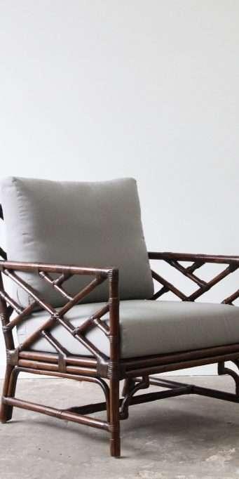 Palm Springs armchair B dark taupe_LS