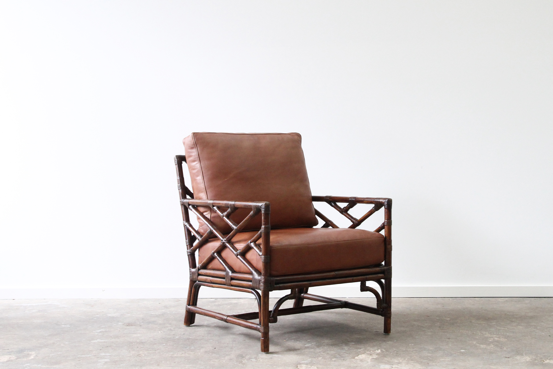 Palm Springs Armchair B Dark Ls Rattan Commercial