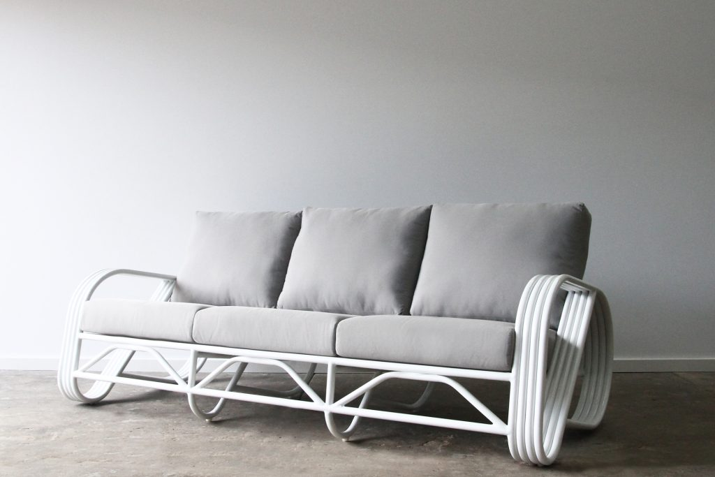 Outdoor lounge 3 seater sofa