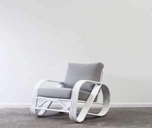 Pretzel armchair aluminium_LS