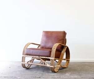 Pretzel armchair whiskey_LS