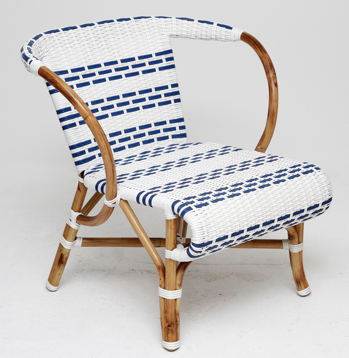 American stripe beach chair