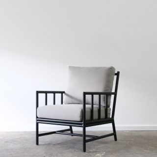 outdoor aluminium armchair