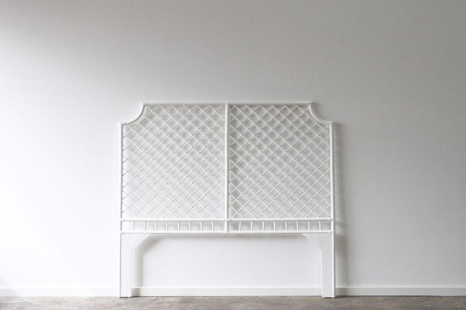 White cane bedhead