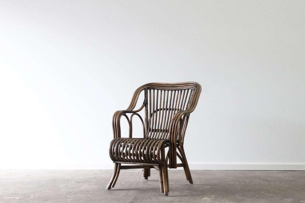 Southampton armchair split cane