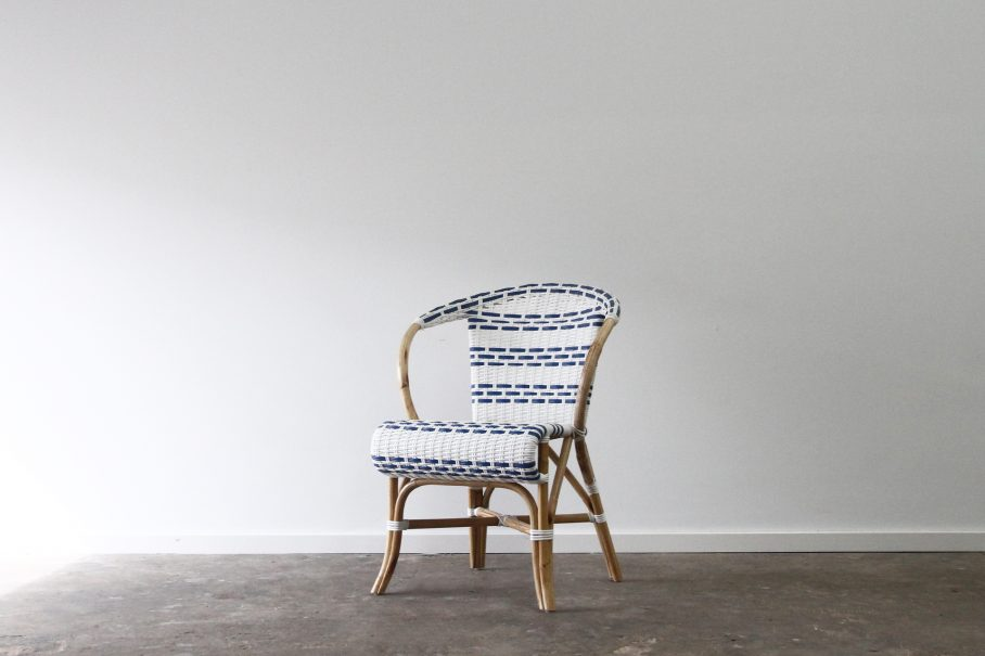 Cafe rattan carver chair