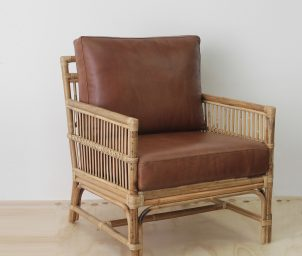 Tribecca armchair_Leather_WS