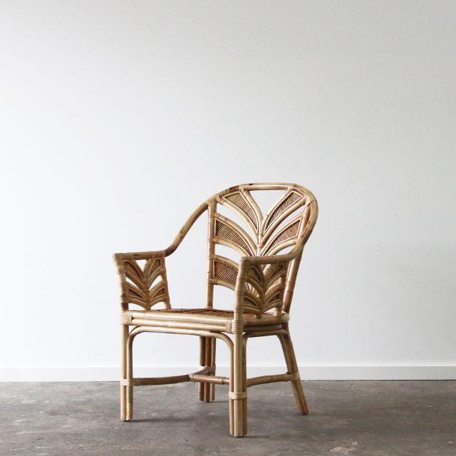 Tropical Rattan armchair