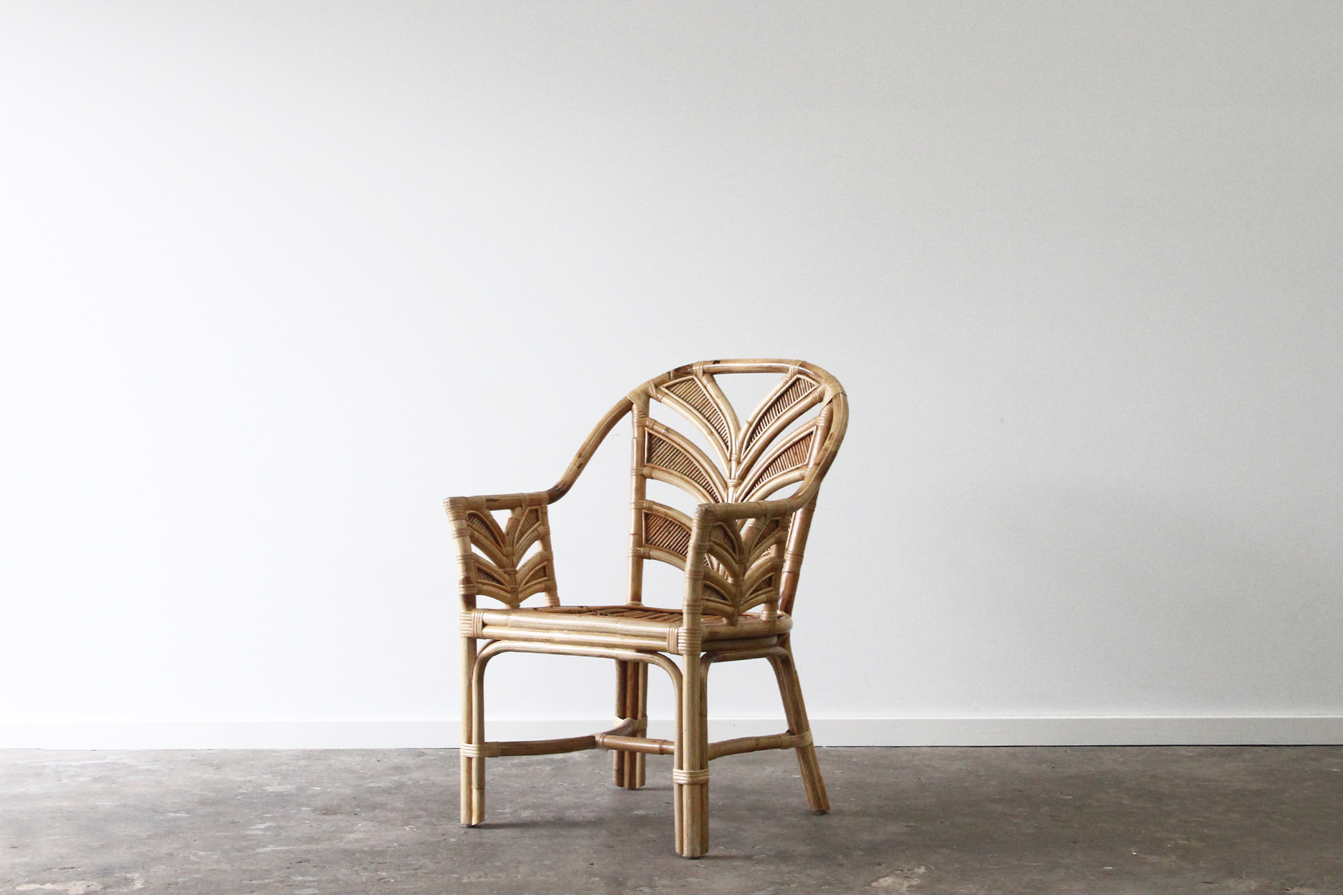 Tropical Rattan armchair