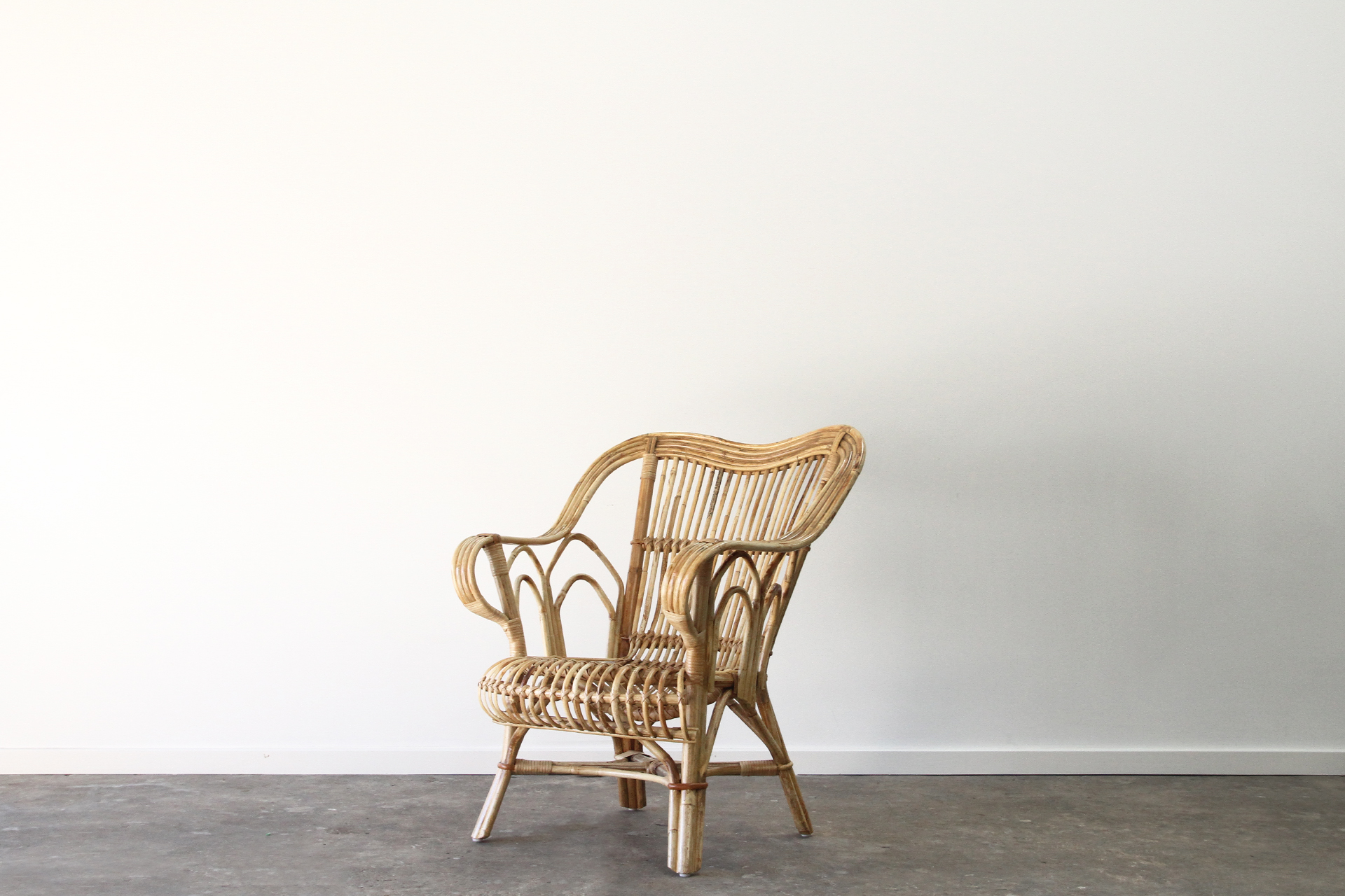 Split cane chair
