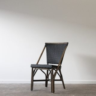 Rattan cafe commercial side chair