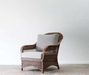 custom high back armchair_LS