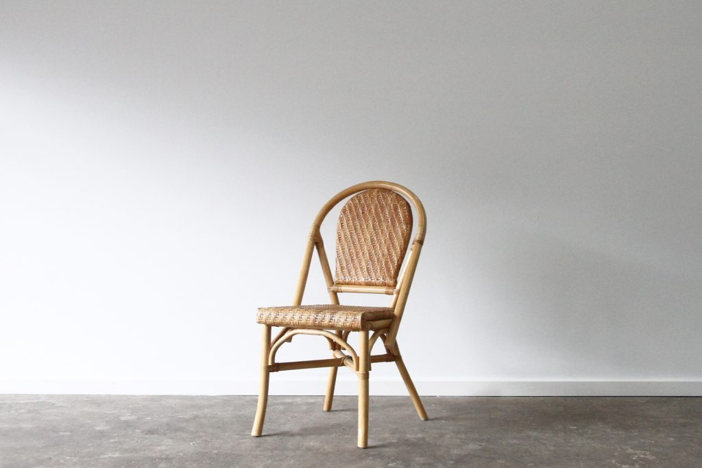 Cafe natural side chair