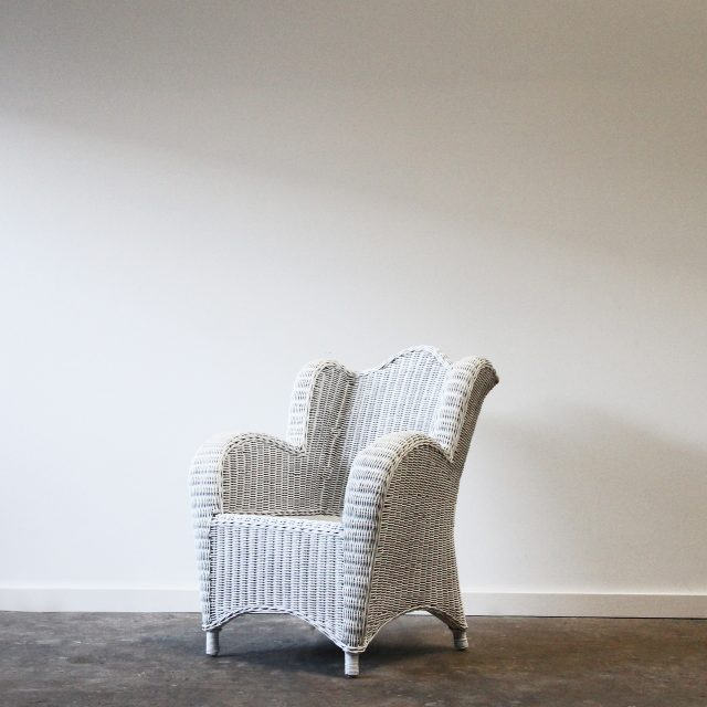 Childs wicker Wing chair