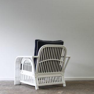 hamptons cane armchair