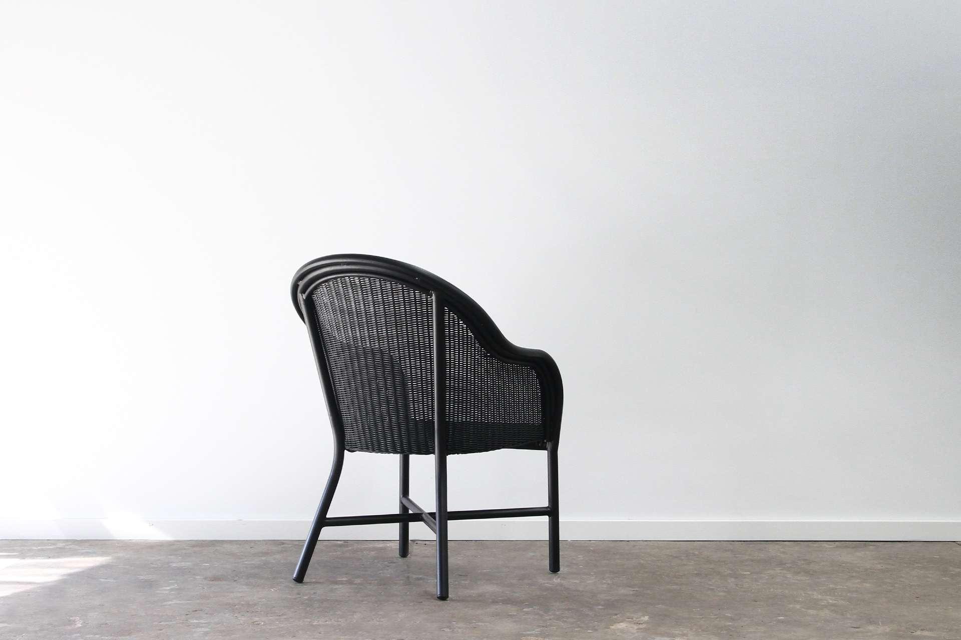 Aluminium tub chair