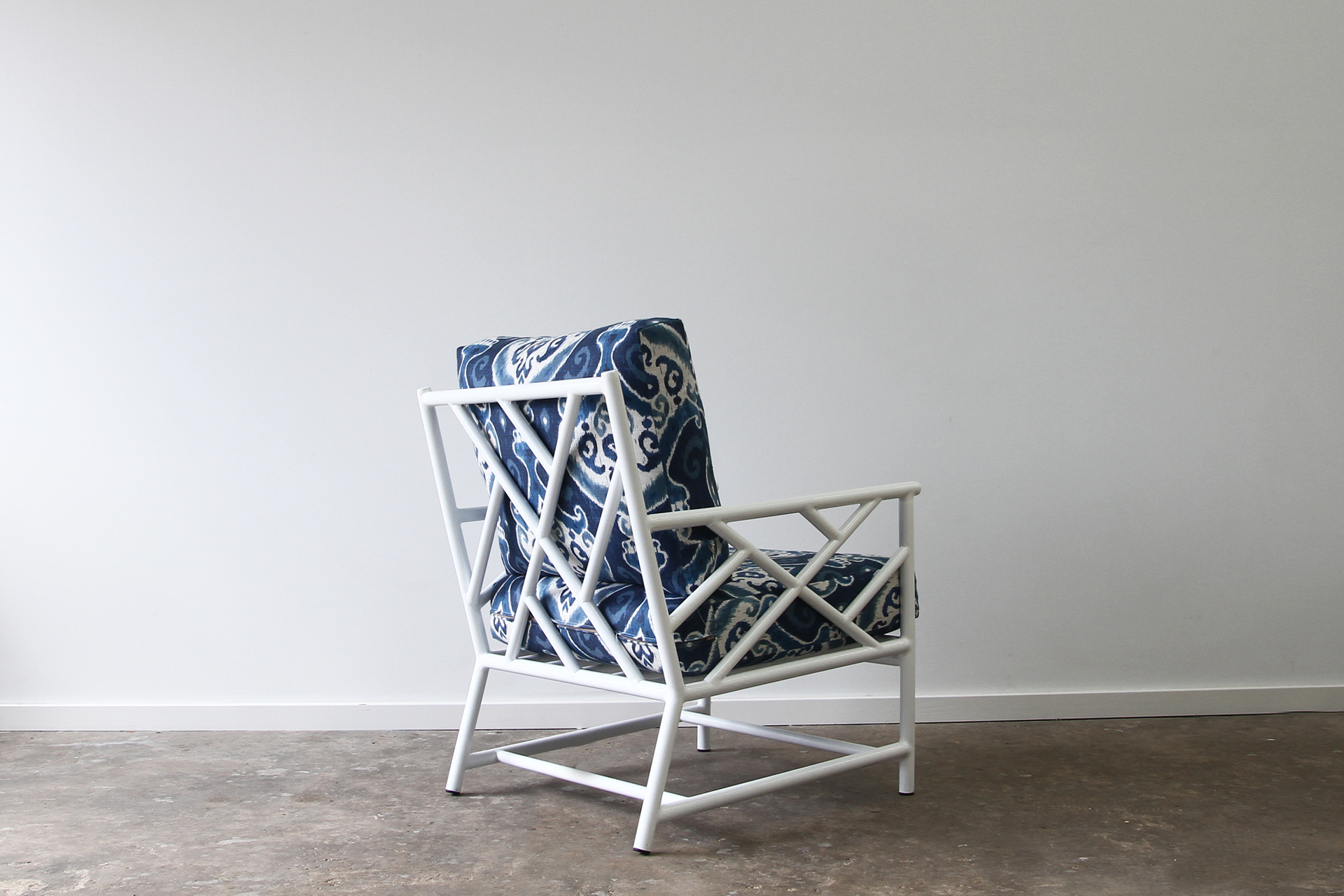 Palm Spring Armchair Rattan Commercial Furniture Supplier