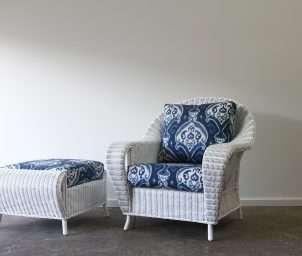 Royal Palm armchair ikat_LS