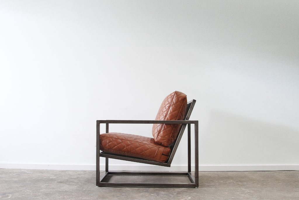 Raw box armchair