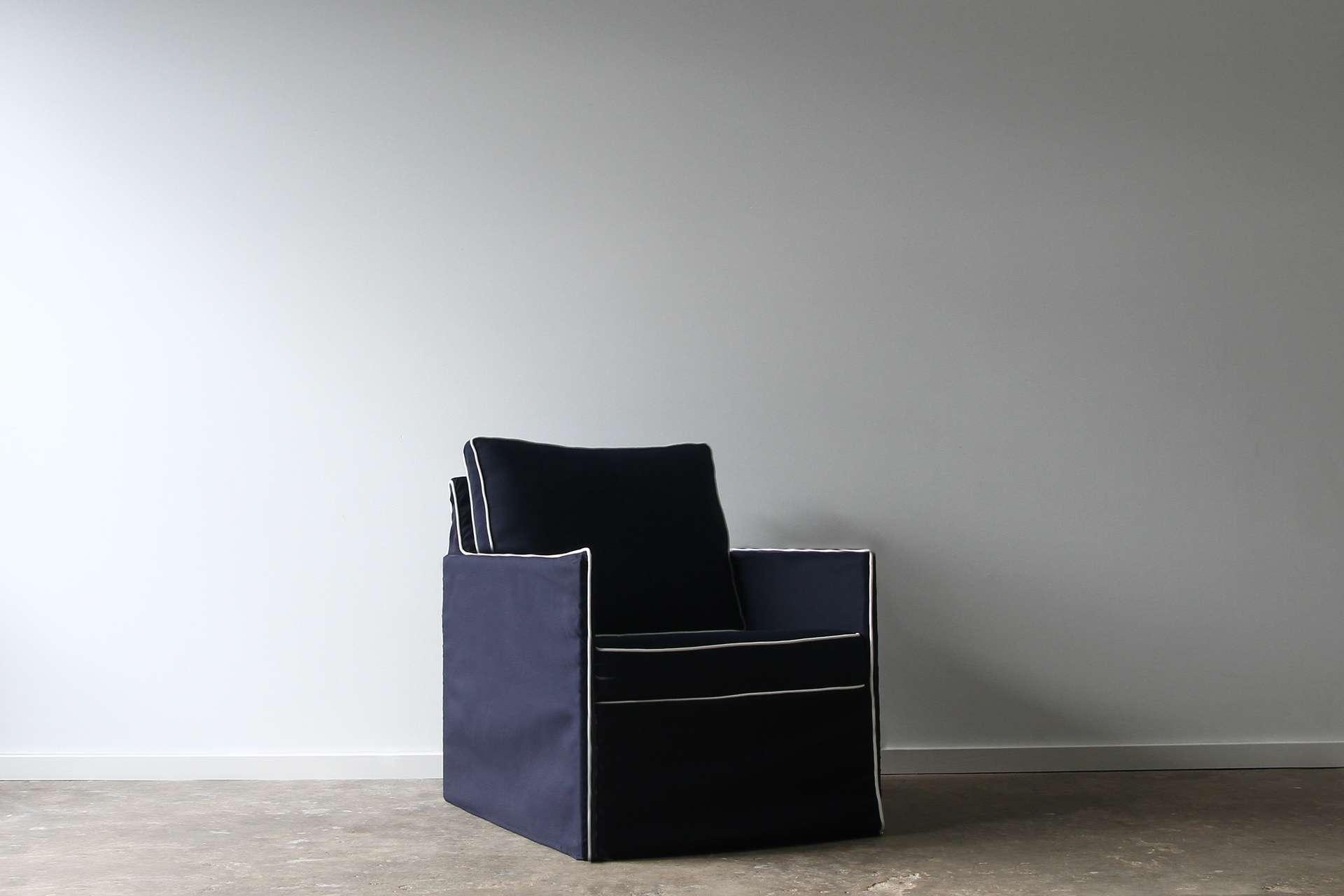 ghost outdoor armchair
