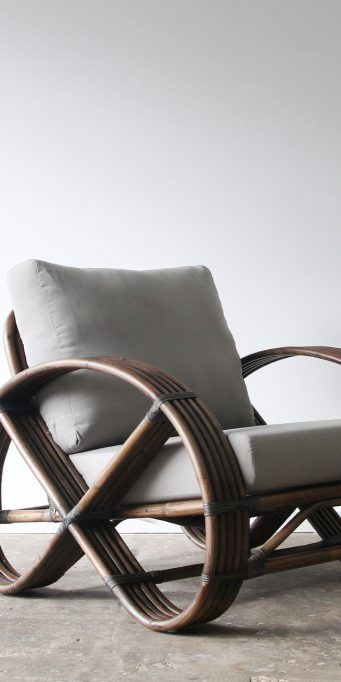 Portifino armchair ebony 165_LS