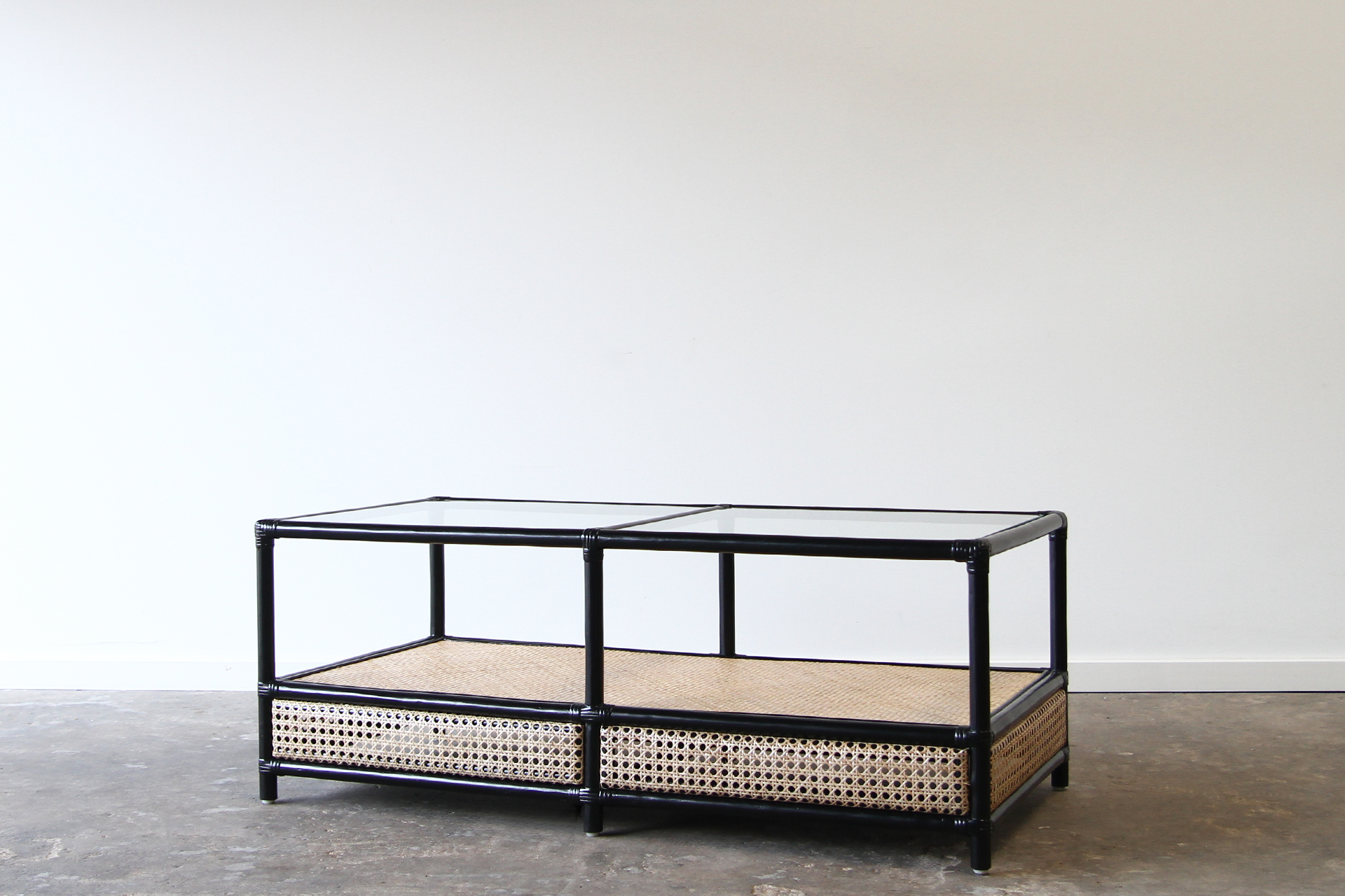 Berg re coffee table rattan commercial furniture supplier for Table bergere
