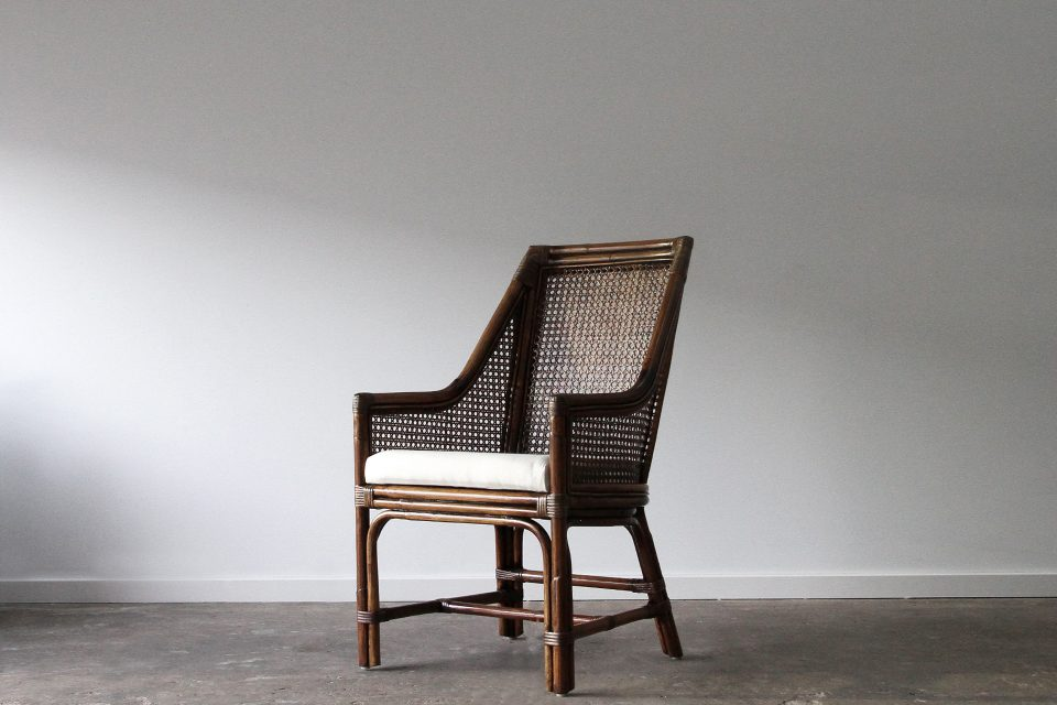 Rattan dining chair