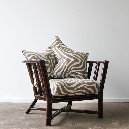 Rattan Cooper armchair
