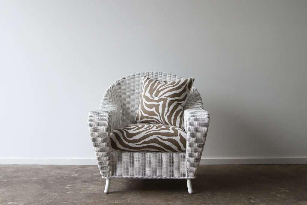 Rattan Ralph Lauren armchair