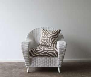 Raffles armchair white_LS